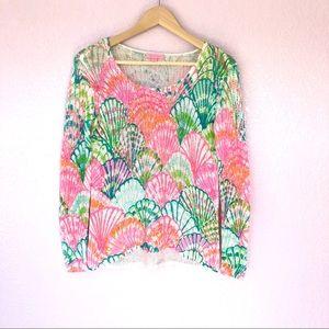 Lilly Pulitzer   Oh shello knit sweater - XS